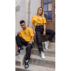 KIT Calça e Camiseta Clean amarela